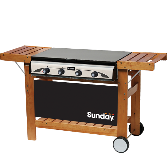 Master 4 sunday grills barbecue mcz garden - Pierre de lave barbecue interdit ...